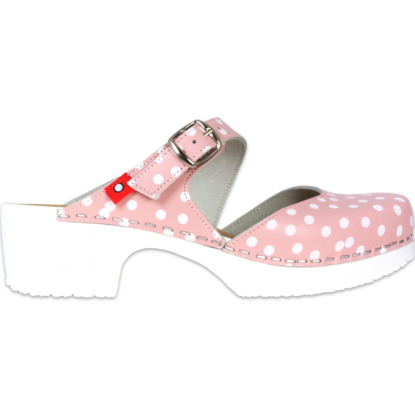 clog soft mary jane rosadots