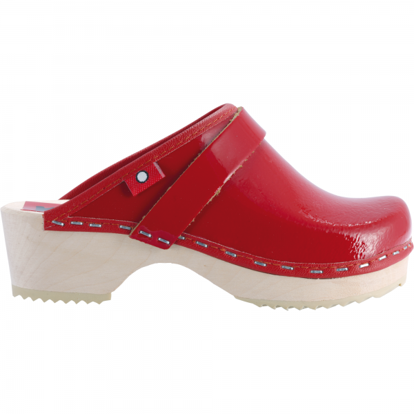 kids red patent
