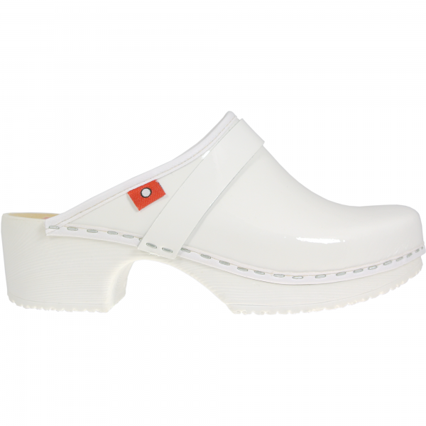 clog soft white patent