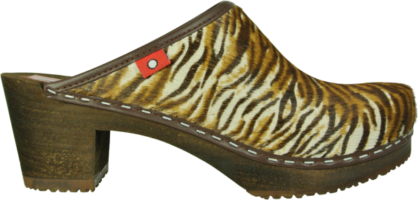 clog 6 1/2 wildkatze